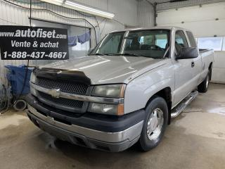 Used 2004 Chevrolet Silverado 1500 Ext Cab 157.5  WB for sale in St-Raymond, QC