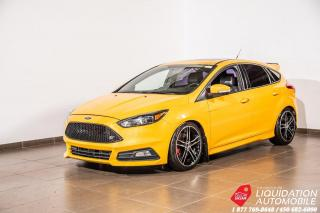 Used 2015 Ford Focus ST+MAGS18+VOLANTS CHAUFF+NAVI+CAM/RECUL for sale in Laval, QC