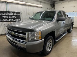 Used 2009 Chevrolet Silverado 1500 4WD Ext Cab 143.5  LS for sale in St-Raymond, QC