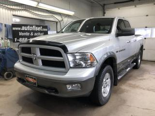 Used 2011 RAM 1500 4WD Quad Cab 140.5  Outdoorsman for sale in St-Raymond, QC