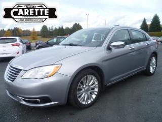 Used 2014 Chrysler 200 Limited cuir-toit for sale in East broughton, QC