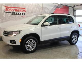 Used 2015 Volkswagen Tiguan TRENDLINE 4MOTION 2.0 TSI for sale in Lévis, QC