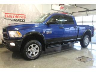 Used 2017 RAM 2500 OUTDOORSMAN DIESEL 6.7L 4X4 for sale in Lévis, QC
