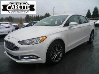 Used 2017 Ford Fusion Se cuir-gps for sale in East broughton, QC