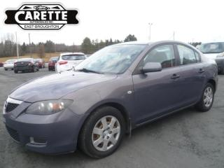 Used 2008 Mazda MAZDA3 for sale in East broughton, QC