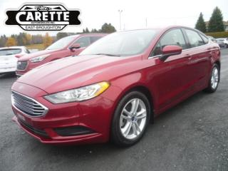 Used 2018 Ford Fusion SE for sale in East broughton, QC