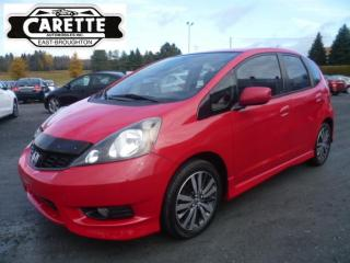 Used 2014 Honda Fit Sport for sale in East broughton, QC