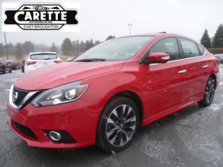 Used 2017 Nissan Sentra Sr premium cuir-toit-gps for sale in East broughton, QC