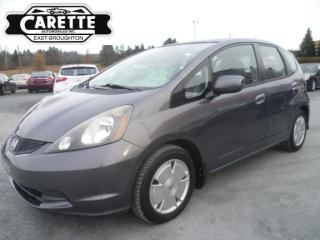 Used 2011 Honda Fit LX for sale in East broughton, QC