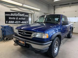 Used 2008 Mazda B-Series B4000 4WD Cab Plus 4.0L Man SE for sale in St-Raymond, QC