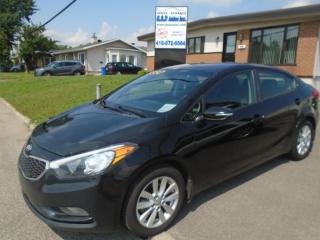 Used 2014 Kia Forte LX+ for sale in Ancienne Lorette, QC