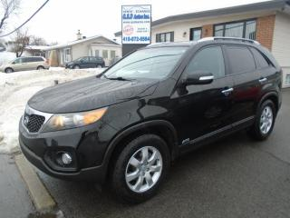 Used 2012 Kia Sorento LX for sale in Ancienne Lorette, QC