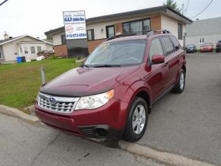 Used 2011 Subaru Forester X Commodité for sale in Ancienne Lorette, QC