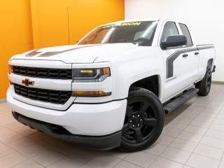 Used 2017 Chevrolet Silverado 1500 CUSTOM 4X4 CAMÉRA BLUETOOTH *GR. REMORQUAGE* for sale in St-Jérôme, QC