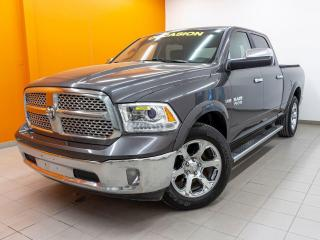 Used 2017 RAM 1500 LARAMIE CREW 4X4 SIÈGES CHAUF / VENT CUIR *BAS KM* for sale in St-Jérôme, QC