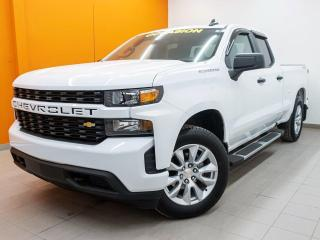 Used 2019 Chevrolet Silverado 1500 CUSTOM V8 4X4 *GR REMORQ* BEDLINER *CARPLAY* PROMO for sale in St-Jérôme, QC