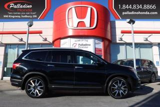 Used 2019 Honda Pilot Touring 7-Passenger - DVD PLAYER HEATED SEATS HEATED STEERING WHEEL - for sale in Sudbury, ON