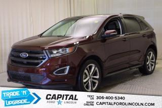Used 2018 Ford Edge SPORT AWD for sale in Regina, SK