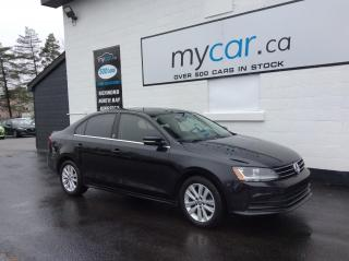 Used 2017 Volkswagen Jetta Wolfsburg Edition SUNROOF, HEATED SEATS, ALLOYS, BACKUP CAM!! for sale in Richmond, ON