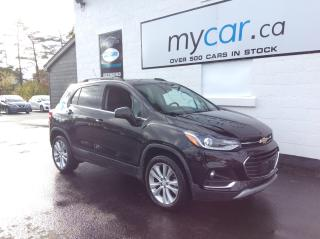 Used 2020 Chevrolet Trax Premier SUNROOF, ALLOYS, HEATED SEATS, BACKUP CAM! for sale in North Bay, ON