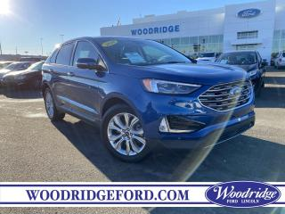 Used 2020 Ford Edge Titanium ***PRICE REDUCED*** 2.0L, NAVIGATION, SUNROOF, LEATHER, AUTO PARK, LANE KEEP, REMOTE START. for sale in Calgary, AB