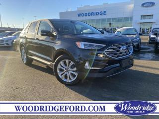 Used 2020 Ford Edge Titanium ***PRICE REDUCED*** 2.0L, NAVIGATION, SUN ROOF,  LEATHER, AUTO PARK, REMOTE START, NO ACCIDENTS for sale in Calgary, AB