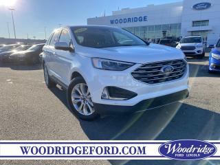 Used 2020 Ford Edge Titanium ***PRICE REDUCED*** 2.0L, NAVIGATION, SUNROOF, LEATHER, REMOTE START, AUTO PARK, NO ACCIDENTS for sale in Calgary, AB