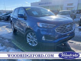 Used 2020 Ford Edge Titanium ***PRICE REDUCED*** 2.0L, NAVIGATION,  LEATHER, AUTO PARK ASSIST, REMOTE START, NO ACCIDENTS for sale in Calgary, AB