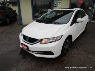 Used 2015 Honda Civic FUEL EFFICIENT LX EDITION 5 PASSENGER 1.8L - SOHC.. POWER SUNROOOF.. HEATED SEATS.. CD/AUX/USB INPUT.. BACK-UP CAMERA.. ECON-PACKAGE.. KEYLESS ENTRY.. for sale in Bradford, ON