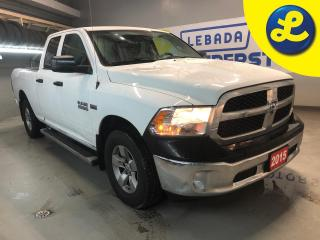 Used 2015 RAM 1500 SXT QUAD CAB 4X4 Hemi * Weather Tech Floor Mats * 5.7L HEMI VVT V8 engine with FuelSaver MDS * 6 Passenger * Remote Starter * Cruise Control * Steerin for sale in Cambridge, ON