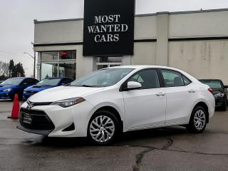 Used 2017 Toyota Corolla LE|CAMERA|TOUCHSCREEN|B/T|XENONS for sale in Kitchener, ON