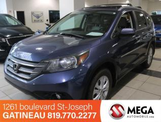 Used 2012 Honda CR-V Touring AWD for sale in Gatineau, QC