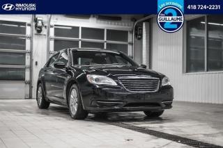 Used 2012 Chrysler 200 LX chez Rimouski Hyundai for sale in Rimouski, QC