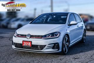 Used 2018 Volkswagen Golf GTI 5-Door Autobahn 1 OWNER! | ACCIDENT FREE! | ONTARIO VEHICLE! for sale in Bolton, ON