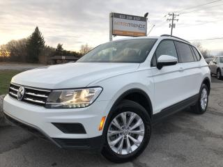 Used 2019 Volkswagen Tiguan Trendline AWD! Heated Seats, BackupCam, Bluetooth, Alloy Wheels, Steering Wheel Controls, Pwr Windows, Cruise, for sale in Kemptville, ON