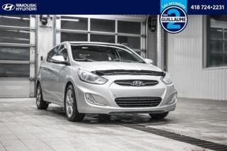 Used 2013 Hyundai Accent GLS chez Rimouski Hyundai for sale in Rimouski, QC