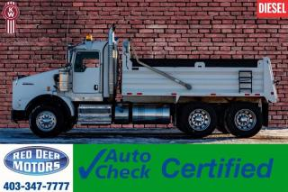 Used 2015 Kenworth T800 T/A Dump Truck Extended Daycab for sale in Red Deer, AB