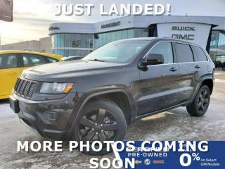 Used 2015 Jeep Grand Cherokee Laredo w/Altitude Package 4WD | Heated Seats for sale in Winnipeg, MB