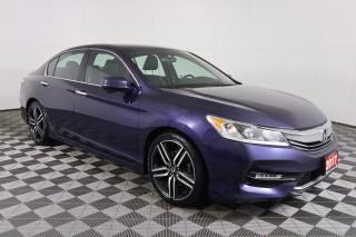 Used 2017 Honda Accord Sport $154 B/W $0 DOWN TAXES-IN for sale in Huntsville, ON