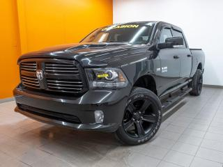 Used 2017 RAM 1500 SPORT CREW 4X4 CAMÉRA *SIÈGES / VOLANT CHAUFFANT* for sale in Mirabel, QC