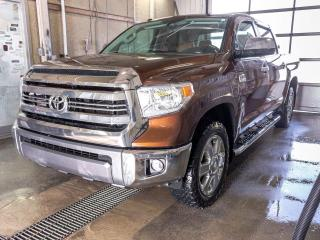 Used 2016 Toyota Tundra PLATINUM 4X4 SIÈGES / VOLANT CHAUF TOIT NAV *CUIR* for sale in Mirabel, QC