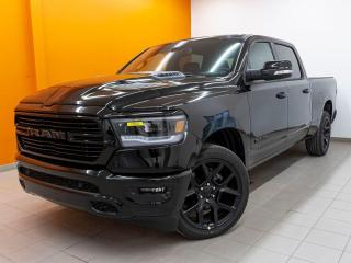 Used 2020 RAM 1500 SPORT CREW SIÈGES CHAUFF / VENTIL CUIR *TOIT PANO* for sale in Mirabel, QC