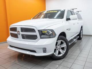 Used 2014 RAM 1500 SPORT 4X4 MAGS 20 PO. ÉCRAN 8.4 *BAS KM* for sale in Mirabel, QC