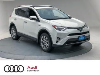 Used 2016 Toyota RAV4 Hybrid Limited for sale in Burnaby, BC