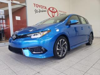 Used 2017 Toyota Corolla iM * HATCHBACK * CAMERA DE RECUL * BLUETOOTH * for sale in Mirabel, QC