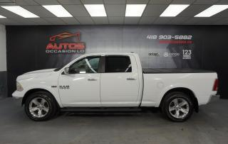 Used 2014 RAM 1500 LARAMIE 4X4 CREW CAB CUIR VENTILÉS CAMERA 139 205 for sale in Lévis, QC