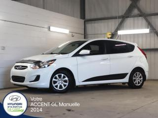 Used 2014 Hyundai Accent GL 5 portes manuelle for sale in Val-David, QC