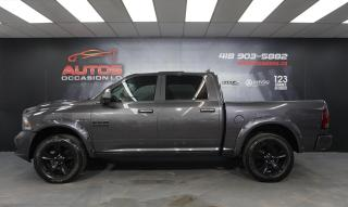 Used 2018 RAM 1500 SPORT 4X4 5.7L CREW-CAB CUIR FULL GPS NAVI CAMERA for sale in Lévis, QC