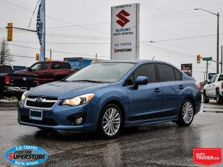 Used 2014 Subaru Impreza Premium AWD ~Heated Seats ~Sunroof ~Bluetooth for sale in Barrie, ON