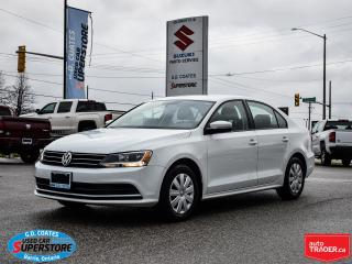 Used 2015 Volkswagen Jetta Comfortline ~Heated Seats ~Backup Cam ~Bluetooth for sale in Barrie, ON